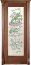 Корсика (американский орех), стекло c художественной аппликацией Остров от 21 500 руб.