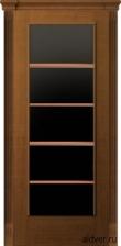 Корсика (анегри) черное стекло с решеткой