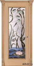 Корсика, патина античная, бевелс-витраж Журавль и лотос от 59 000 руб.