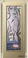 Корсика (Avorio oro) бевелс-витраж Журавль и лотос от 59 000 руб.