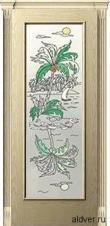 Корсика (Avorio oro), стекло с художественной аппликацией Остров от 40 000 руб.