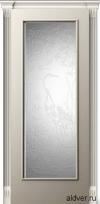 Корсика (слоновая кость эмаль), стекло с 3d-гравировкой Журавль и лотос от 21 000 руб.
