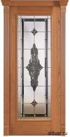Корсика (черешня натуральная) с бевелс-витражом Черное зеркалос от 42 000 руб.