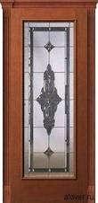 Корсика (черешня) бевелс-витражом Черное зеркало от 38 000 руб.