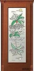 Корсика (черешня), стекло с художественной аппликацией Остров от 19 000 руб.