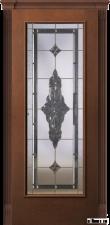 Корсика (дуб каштан светлый) с бевелс-витражом Черное зеркало от 35 500 руб.
