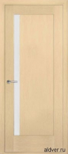 Милано с узким стеклом (белый дуб) от 14 000руб.