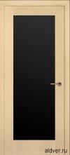 Милано с широким черным стеклом (белый дуб) от 18 500руб.