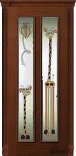 Неаполь (африканский орех), стекло с художественной аппликацией Жирафы от 16 500 руб.