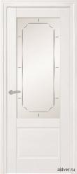 Belluno крашенная белая со стеклом Conte