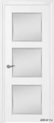 Verona крашенная белая со стеклом
