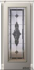 Корсика (патина золотая/бронзовая), бевелс-витраж Черное зеркало от 44 000 руб.