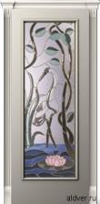 Корсика (патина золотая/бронзовая), бевелс-витраж Журавль и лотос от 44 000 руб.