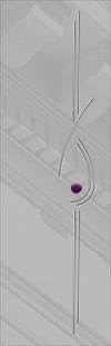 стекло Bellore для дверей серии Милано