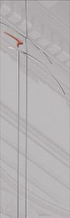 стекло Chiaro для дверей серии Милано