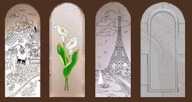 стекло для дверей серии Мадрид
