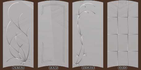стекло для дверей серии Натали
