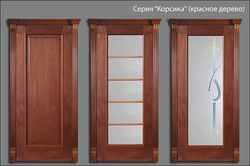 двери Корсика (красное дерево)