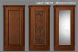 двери Корсика (африканский орех)