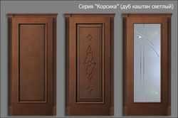 двери Корсика (дуб каштан светлый)