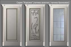 двери Корсика (патина винтаж)