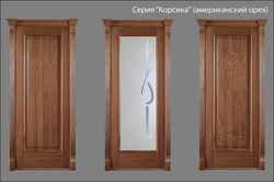 двери Корсика (американский орех)