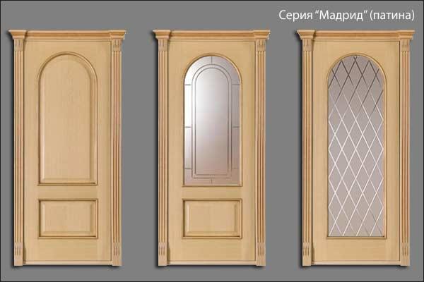 александрийские двери серии Мадрид