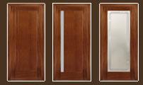 двери Милано (дуб натуральный)