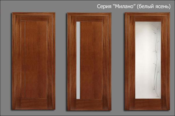 александрийские двери серии МИлано