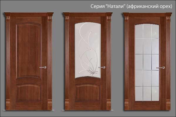 александрийские двери серии Натали