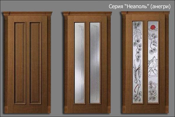 александрийские двери серии Неаполь