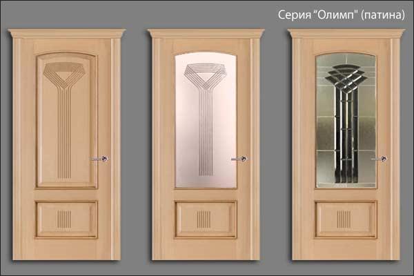 александрийские двери серии Олимп