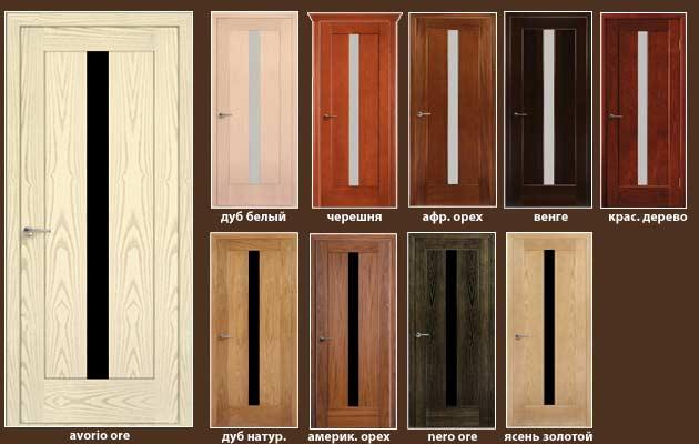 все модели дверей Рива