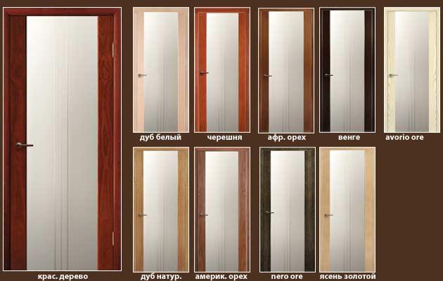 все модели дверей Салерно