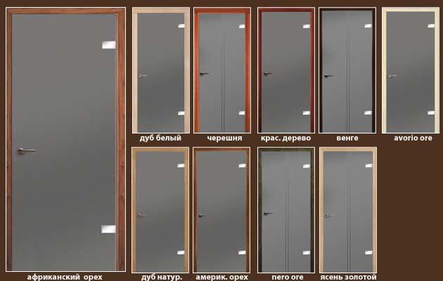 все модели дверей Салерно+