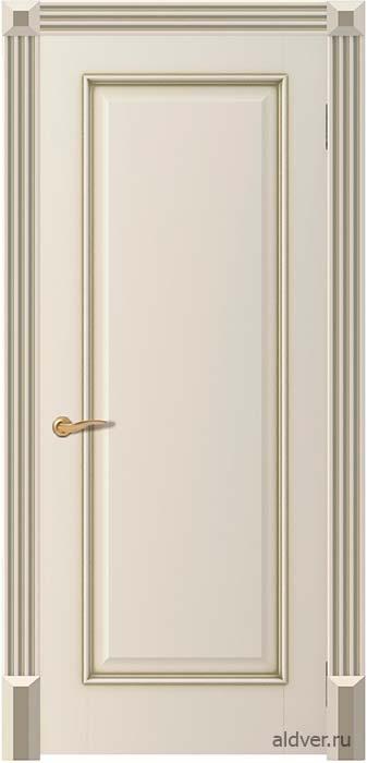 Корсика глухая с колоннами Канны (бронзовая патина по эмали Шампань)