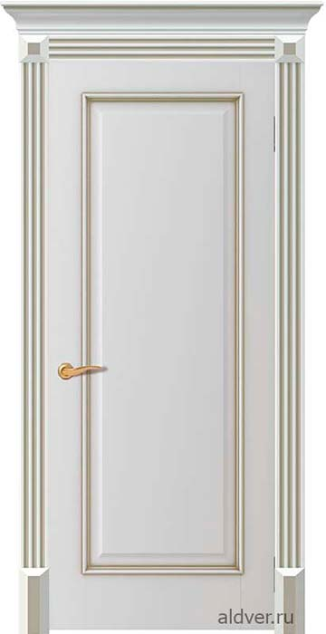 Корсика глухая с колоннами Колизей (бронзовая патина по белой эмали)