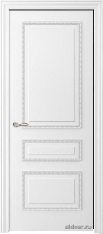 Версаль с резным багетом (эмаль белая)