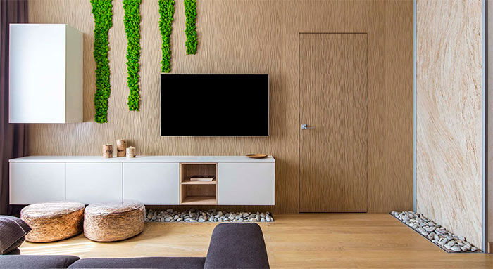 Уникальный дизайн интерьера квартиры