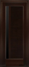 Милано с узким черным стеклом (венге) от 14 500руб.