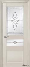 Treviso крашенная слоновая кость со стеклом Зеркало